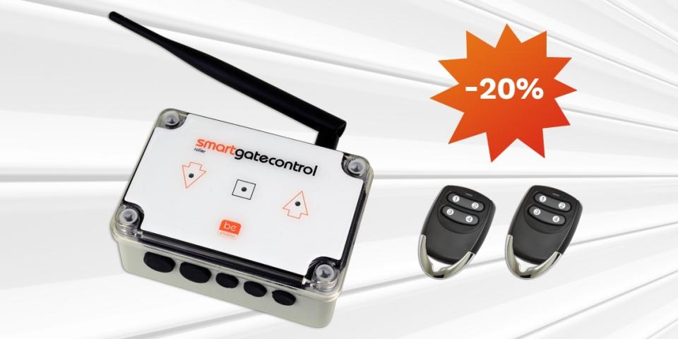 Nowość w Polfendo - centralka Roller Smartgatecontrol